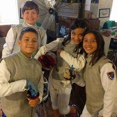 All-American Fencing Academy crew today! #weallplayswords #wedareyounottoloveit #downtownfayettevillenc http://aafa.me/2rz7D3V