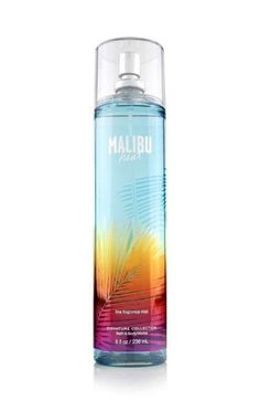 Musings Of A Fairy Glammother Malibu Heat from Bath & Body Works.Malibu Heat from Bath & Body Works. Bath Body Works, Bath N Body, Bath And Body Works Perfume, Perfume Body Spray, Parfum Spray, Perfume Bottle, Make Up Tools, Maybelline, Thin Mints