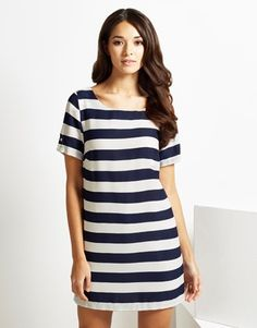 An enviable collection of women's clothing and accessories from Lipsy London. Browse beautiful styles and designs. Lipsy, Tunics, Monochrome, Short Sleeve Dresses, Clothes For Women, Beautiful, Collection, Color, Style