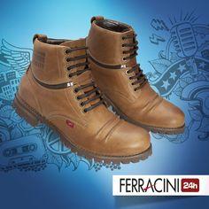 Cada pai tem seu estilo!  Para os pais que curtem variar o look, o novo modelo da linha Pionner tem uma cor discreta e ainda pode ser utilizado como bota ou sapato!  2 presentes em um só!    #ferracini24h #shoes #cool #trend #boots #brasil #manshoes