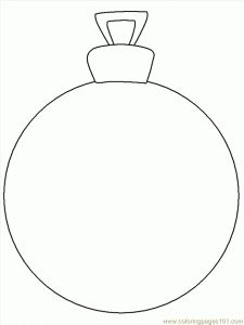 Christmas Ornaments Coloring Pages And Sheets