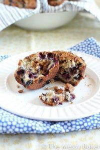 Blueberry cinnamon Chip Muffins