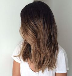 17 Best ideas about Ombre Hair Brunette Carmel highlights on lower half