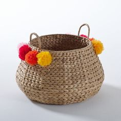 Ikoya Water Hyacinth Basket