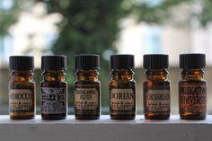 Black Phoenix Alchemy Lab perfume oils.
