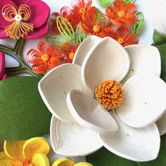 #quilling #flowers