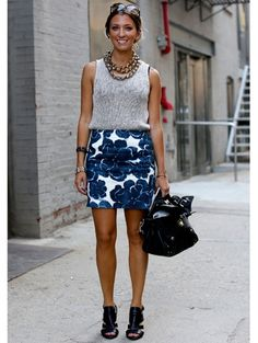 Streetstyle New York Fashion Week | ELLE