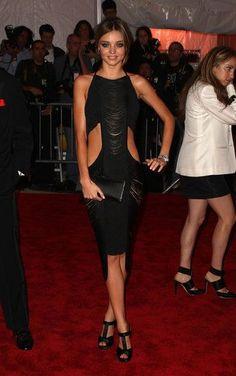 Miranda Kerr wore Jil Sander in 2009. #MetGala