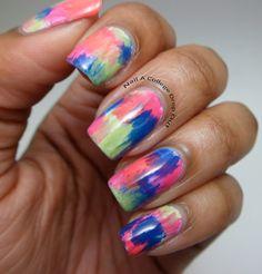 Graffitti nails
