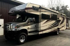 Joe Oconnell 4 x 4 Class C is ready for some beach time. More info -->  #4x4rv