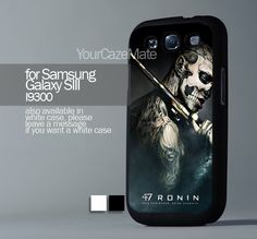 Ronin Movie Keanu Reeves Zombie, For Samsung s3 Hard Plastic Black | YourCazeMate - Accessories on ArtFire