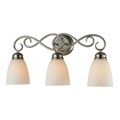 Shop portfolio 5 light brandy chase brushed nickel bathroom vanity shop portfolio 5 light brandy chase brushed nickel bathroom vanity light at lowes bathrooms pinterest vanity light bar brushed nickel and aloadofball Image collections