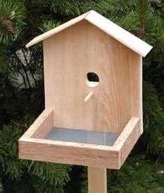 "10/""  Distressed Look Wooden Bird Feeders 9/"" 4-styles"