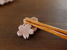 さくら箸置き   Sakura chopstick rest