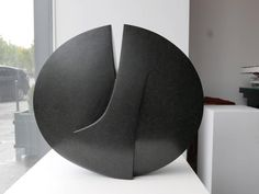 Michel Lucotte Black Granite Sculpture 2