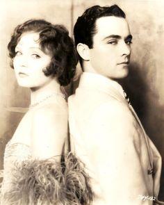 1920s  Nancy Caroll and Rudolph Valentino