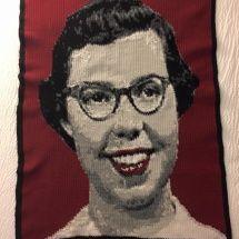 fabulous crochet portrait by LindasYarnArt
