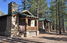 Travelers lucky enough to score one of these cabins have the best lodging at Grand Canyon National Park.   Photo credit: Grand Canyon Lodge North Rim 0051 | Flickr - Photo Sharing!