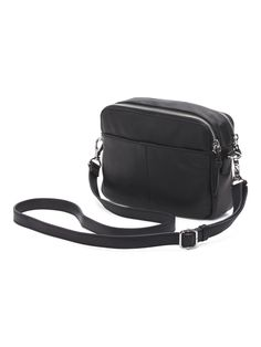 Zoey Double Zip Leather Camera Crossbody by Margot. My current weekend    evening bag. 57cb4c40172