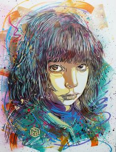 Four years ago, I told you about the work of the artistChristian Guemy aka C215, now one of the most famous artistof the French and international street a