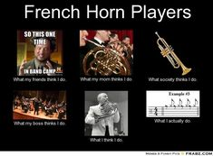 French horn players life