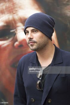 Italian actor Marco D'Amore before the 'Perez' Press Conference during Bifest 2015 on March 27, 2015 in Bari, Italy.