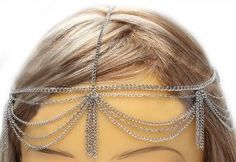 Draping Chains Head Armor with Tassles