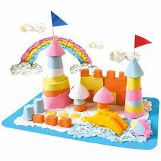 """Angel Sand - 5 verschillende kleuren """"zand"""" om binnen mee te spelen"""