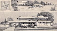 """frank lloyd wright"" & illustrations - Google Search"