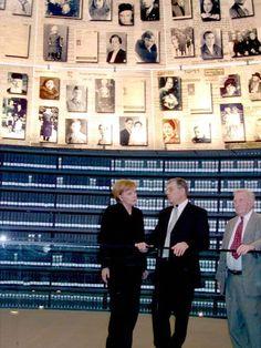 March 2008 | Visit of German Chancellor Angela Merkel to Yad Vashem
