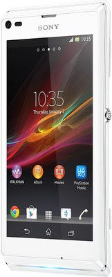 Specifications and Price of Sony Xperia L (Diamond White) in India - Tech Spices Technology News India - Latest Gadgets Price , Reviews