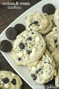 Cookies and Cream Cookies on SixSistersStuff.com