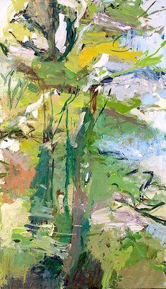 ALONGTIMEALONE: bofransson: Ryan Cobourn - Two Trees #abstractart