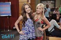 Olivia Holt and Kelli Berglund on Kickn It