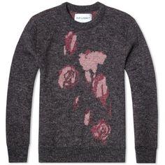 Our Legacy Jacquard Knit Crew (Jacquard Roses)