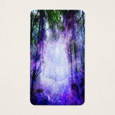 Magical Portal in the Forest Business Card