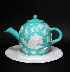 Wonderful...Teapot Cake...Tea Time!