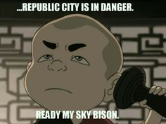 Melo is pretty much Aang.  but instead of being a pillar, he's pretty much just got the comic relief lines...