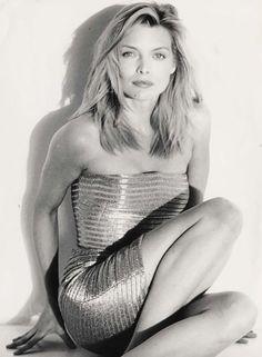 Michelle Pfeiffer fotografiada por Herb Ritts, 1989