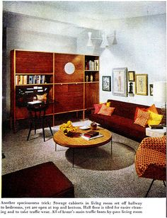 60s Living Room | Remarkably Retro, 1950s living room design | My ...