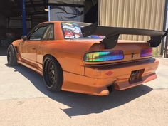 #Nissan #Silvia_S13 #Coupe #Modified #Slammed #Stance #JDM