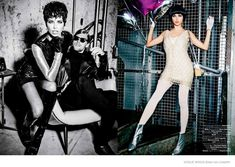 Adriana Lima Wears Short Hair for Ellen von Unwerth Shoot in Vogue Brazil