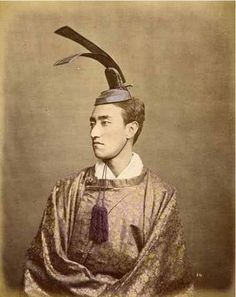 "Baron Raimund von Stillfried   ""Portrait of a nobleman"", Japan   1877 (ca)"