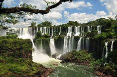 cataratas de Iguazú, frontera entre Brasil y Argentina