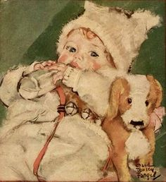 various Illustration - old Baby