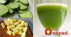 Recipe: This lemon cucumber juice is the most effective for burning belly fat - Diet Doctors Belly Fat Diet, Burn Belly Fat, Home Detox, Belly Fat Burner, Cucumber Juice, Abdominal Fat, Health Tips, Smoothies, Health Fitness