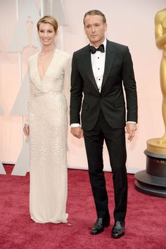 Country power couple Faith Hill and Tim McGraw at the 87th Academy Awards.