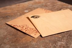 Custom Printed Wooden Envelopes