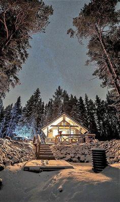 Beautiful Landscape of Nature Winter Magic, Winter Snow, Winter Time, Winter Christmas, Winter Holidays, Beautiful Places, Beautiful Pictures, Winter Scenery, Winter Beauty