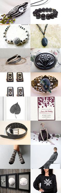 The Dark Side by Julia on Etsy--#Etsy #treasury #black #basket #bowl #Fibernique #trendy #gifts Pinned with TreasuryPin.com